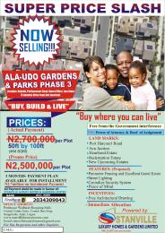 Mixed   Use Land Land for sale Alaudo Gardens & Park  Phase3 Owerri Imo