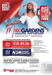 Serviced Residential Land Land for sale Chokocho igboetche by elements junction chokocho town Etche Eleme Port Harcourt Rivers