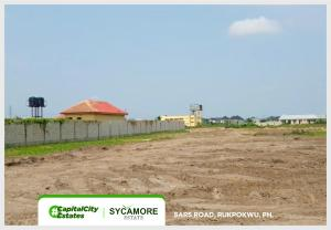 Serviced Residential Land Land for sale Sycamore Estate SARS Road Rukpokwu Port Harcourt Rivers