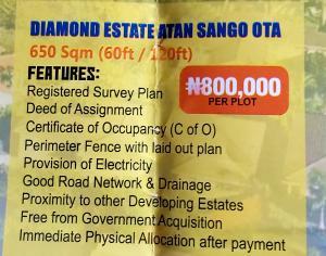 Mixed   Use Land Land for sale Diamond estate atan Sango ota,ogun state Sango Ota Ado Odo/Ota Ogun