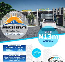 Land for sale Sunrise Estate Satellite Town Amuwo Odofin Lagos