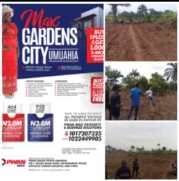 Residential Land Land for sale Max Garden City Estate ikput Nsulu  Isiala-Ngwa North Abia