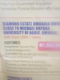 Mixed   Use Land Land for sale Diamond Estate Umuahia umuigu Umuahia North Abia