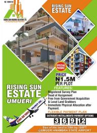 Residential Land Land for sale Rising Sun Estate In Umueri, Airport Anambra Anambra