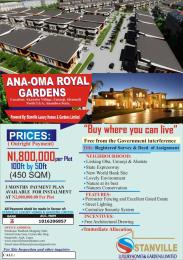 Serviced Residential Land Land for sale Akanabu Village Idemili North Anambra