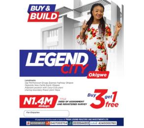 Mixed   Use Land Land for sale Off PortHarcourt - Enugu Expressway Okigwe Imo