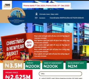Land for sale Orimedu Ibeju-Lekki Lagos