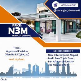 Residential Land for sale Victoria Court Elerangbe Ibeju Lekki Eleranigbe Ibeju-Lekki Lagos