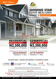 Serviced Residential Land Land for sale Ibeju Town Ibeju-Lekki Lagos