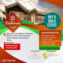 Serviced Residential Land Land for sale Opposite Chritopher University Beside Rccg Yputh Church Mowe Mowe Obafemi Owode Ogun