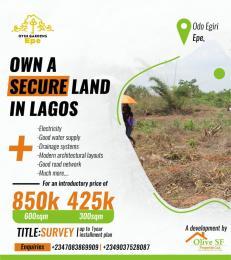 Mixed   Use Land Land for sale Ode Egiri Epe Lagos
