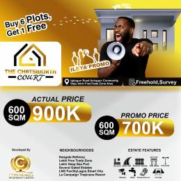 Land for sale IGBOGUN ROAD ASHAGUN COMMUNITY Ibeju-Lekki Lagos