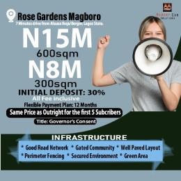 Residential Land for sale Rose Garden Estate Magboro Obafemi Owode Ogun