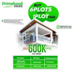Residential Land Land for sale Primehood Estate, Otunla Community. Ibadan Oyo