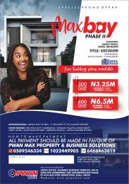 Mixed   Use Land Land for sale Max Bay Estate Abule panu Eluju Ibeju-Lekki Lagos
