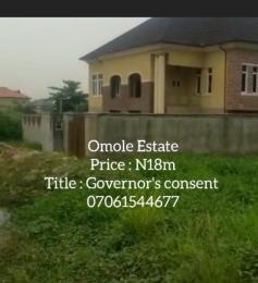 Residential Land for sale Omole Phase 1 In Ojudu Berger Omole phase 1 Ojodu Lagos