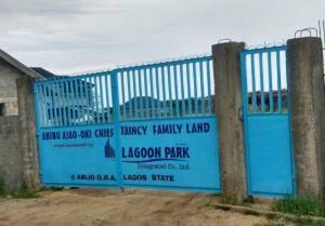 Mixed   Use Land Land for sale Lagoon Park Estate Abijo Ajah Lagos