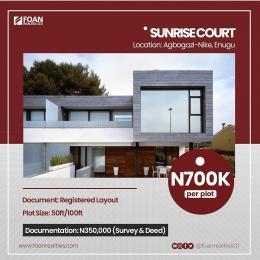 Commercial Land Land for sale Sunrise Court Estate Agbogazi Nike Enugu Enugu