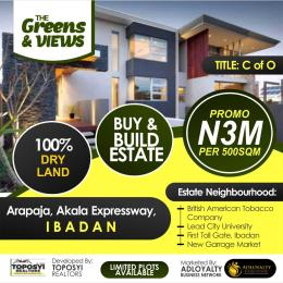 Residential Land Land for sale Akala Express Akala Express Ibadan Oyo