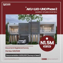 Serviced Residential Land for sale Aku Luo Uno Phase 2 Estate Umuleri Anambra East Anambra