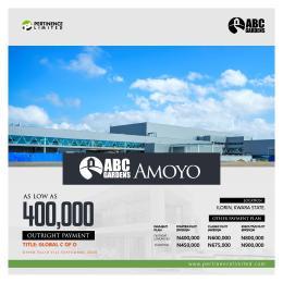 Serviced Residential Land for sale Amoyo Ilorin Kwara