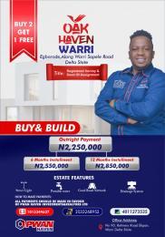 Residential Land for sale Egborode Along Warri Sapele Road, Okpe Warri Delta