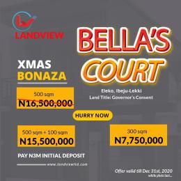 Mixed   Use Land for sale Before Amen Estate Eleko Ibeju-Lekki Lagos