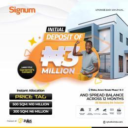 Serviced Residential Land Land for sale Before Amen Estate Phase 2 Eleko Ibeju-Lekki Lagos
