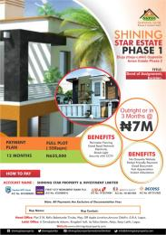 Residential Land Land for sale Eluju Opposite Amen Estate Phase 2 Eluju Ibeju-Lekki Lagos