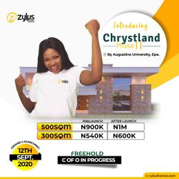 Land for sale By Augustine University Epe Lagos