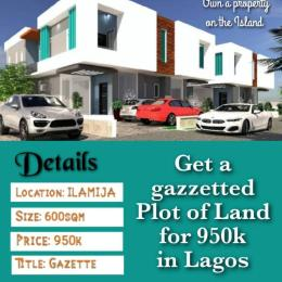 Serviced Residential Land Land for sale Ilamija Town Epe Road Epe Lagos