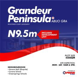 Mixed   Use Land Land for sale Abijo GRA. 5 minutes drive from Shoprite, Sangotedo, Ibeju Lekki Lagos, Nigeria. Abijo Ajah Lagos