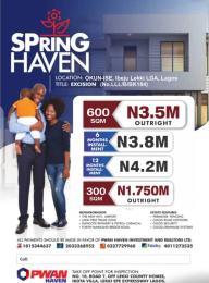 Serviced Residential Land Land for sale Okun Ise Ibeju-Lekki Lagos