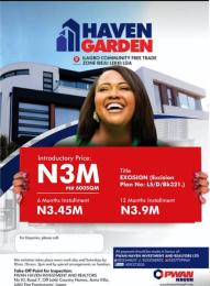Serviced Residential Land Land for sale Ilagbo Community Free Trade Zone Ibeju-Lekki Lagos