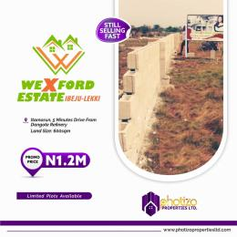 Serviced Residential Land Land for sale 3 Minutes Drive From Dangote Jetty Akodo Ise Ibeju-Lekki Lagos