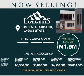 Land for sale Ayobo Ipaja Lagos