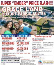 Residential Land Land for sale Grace Land Okun Ise LaCampaigne Tropicana Ibeju-Lekki Lagos