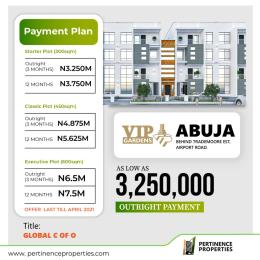 Serviced Residential Land for sale Behind Trademore Estate Lugbe Abuja