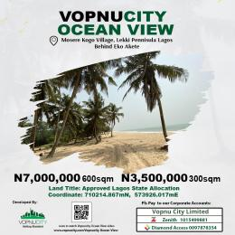 Serviced Residential Land Land for sale Behind Monastery Road Monastery road Sangotedo Lagos