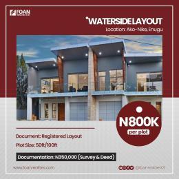 Mixed   Use Land Land for sale Water Side Layout Estate Ago Nike Enugu Enugu