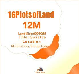 Land for sale Off Monastery Road, Behind Novare Mall ShopRite Sangotedo Lagos