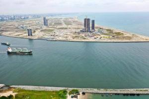 Land for sale Canal lots, Eko Atlantic Victoria Island Lagos