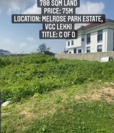 Residential Land Land for sale Melrose park estate, VGC Lekki Lagos