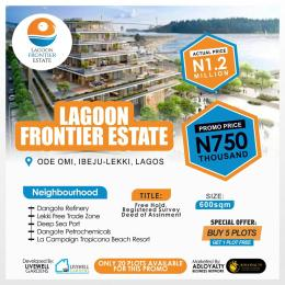 Residential Land Land for sale Lagoon Frontier Estate, Ode-Omi. Ibeju-Lekki Lagos