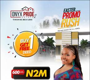 Residential Land Land for sale Onyx Pride Phase2, Less Than 2Mins Drive From La-campaign Ibeju-Lekki Lagos