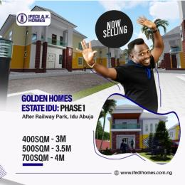 Residential Land Land for sale Idu. After the train station Idu Abuja