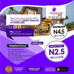 Land for sale Lepia Town, Eluju Ibeju-Lekki Lagos