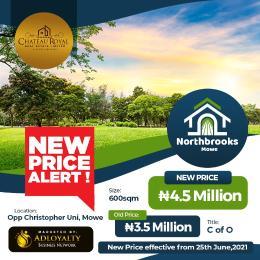 Residential Land Land for sale Northbrook's Estate Opposite Christopher University. Mowe Obafemi Owode Ogun