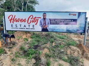 Residential Land Land for sale Beside Amen Estate Off Lekki-Epe Expressway Ajah Lagos