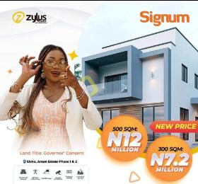 Residential Land for sale Signum Estate, Oreki Community Eleko Ibeju-Lekki Lagos